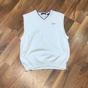 Men's Greg Norman Sleeveless V-Neck Sweater (MED)